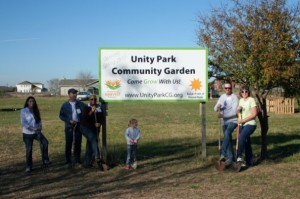 Round Rock's Unity Park Community Garden