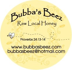 Bubba's Beez Raw Local Honey Georgetown Texas