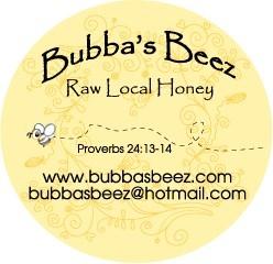 Bubba's Beez Raw Honey Georgetown Texas