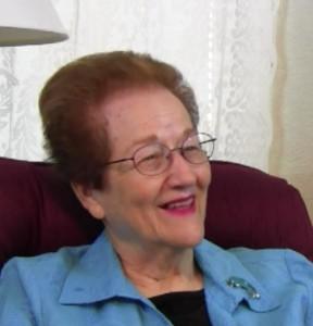 Dorothy Smiling The Kitchen