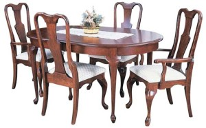 Oval Queen Anne Table