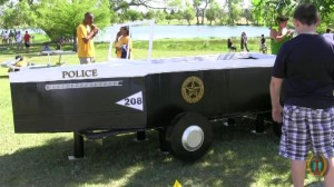 Round Rock's the Boat Regatta Police Boat