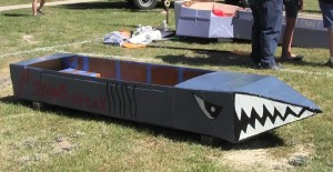 Round Rock's the Boat Regatta Shark Boat