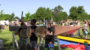 Round Rock's the Boat Regatta Voigt Elementary Viking Boat